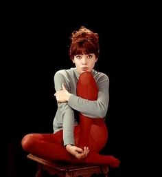 "One of my all time favorite female performers, Anna Karina!! Her performance in ""Une Femme est une femme"" warms my heart every time."