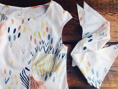 Leah Duncan + Halfmoon blouse