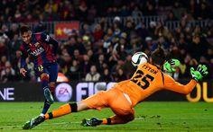 Fim de jogo! Barcelona 5-0 Elche. +http://brml.co/1x0LPY6