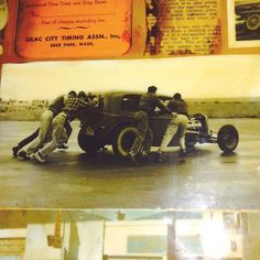 The first LCTA run at deer park Dusty Rhodes ARDUN 32 sedan. This was just after SRRA stopped doing the races. I wanted to use it in my book but it's glued to a wall in dustys house #hotrod #hopuplive by jadeidol