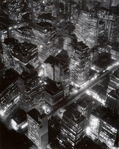 Nightview  New York, 1932 (NY, NYC, New York)