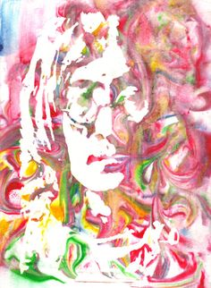 Original Artist Watercolor Print of JOHN LENNON!! Available in 8x10 or 11x14 as well!!  Great Gift Idea!