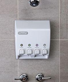 White Classic Quadruple Dispenser