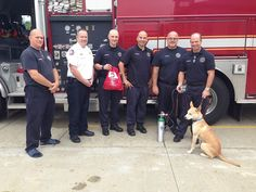 Two more pet oxygen mask kits were donated this week through our Project Breathe™ program - Richmond Heights Fire Department in Ohio is now better equipped to save pets!   Thank you to the first responders for all that you do and for your willingness to save pets as well!