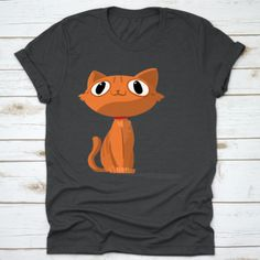 Buy yours Ginger Cat Orginal Design T-Shirt now today at Panda Gifts at lowest price if you are looking for products related to Panda Gifts, Cat Gifts, Ginger Cats, Cat Lovers, Digital Prints, Special Occasion, Dog Cat, Valentines, Purple