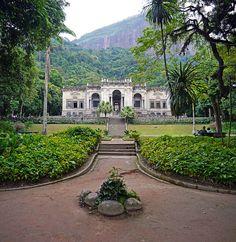 Parque Lage - Vegetação Tropical - Jardim Exuberante - Cenografia - Exótismo - Natureza Construída - Rio de Janeiro - Brasil - Brazil
