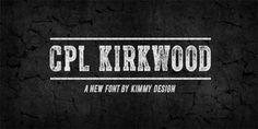 Cpl Kirkwood font download
