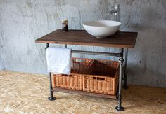 Szafka pod umywalkę z serii BAILDON - CustomShop - Szafki pod umywalkę