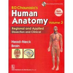 Chaurasia's - Human Anatomy. Vol.3 6th/2013 – dentimes shop