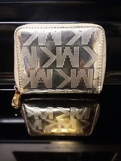 2077b1c41ab3 Gold Michael Kors Wallet #fashion #clothing #shoes #accessories  #womensaccessories #wallets (ebay link)