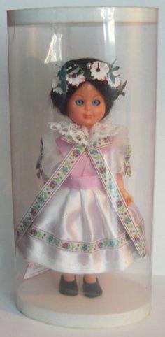 Mrkací krojovaná panenka Hanácké Slovácko 17cm - 1