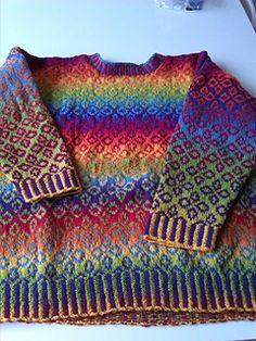 Ravelry: alexandramarieke's kauni sweater