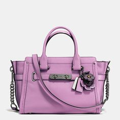 51370a8d2e Coach Swagger 27 with Willow Floral Detail Coach Swagger 27