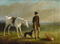 19th Century Equine Art: William Barraud on Cavalcade