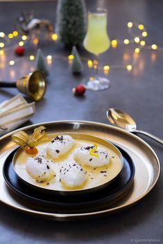 Sündhaft leckere Schneenockerl in cremiger Limoncello-Vanillesauce