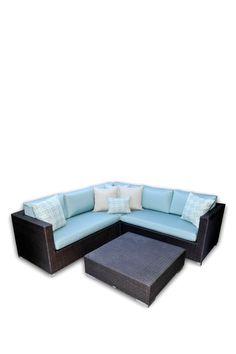 Vienna Sectional Sofa 4 Piece Set