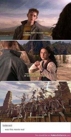 I think we have all tossed and turned many a night wondering the same thing. Spy Kids: Island of Dreams? It's one of the Spy Kids movies Tumblr Funny, Funny Memes, Hilarious, Spy Kids 2, Spy Kids Movie, Dreamworks, Geeks, Haha, Nickelodeon