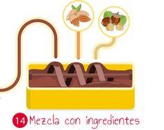 Mezcla con ingredientes
