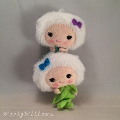 You can find dolls like these and many more on our Facebook page or Etsy shop!