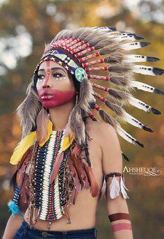 models true amateur Native american