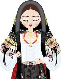 Le Sognatrici - Costume di Oliena - Cortes Apertas