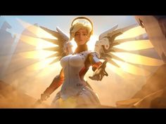 The cinematic trailer for Overwatch gives us a nice look at some of the characters in Blizzard's online shooter. Overwatch Mercy, Overwatch Angel, Overwatch Short, Overwatch Xbox, Xbox 1, Playstation, World Of Warcraft, League Of Legends, Character
