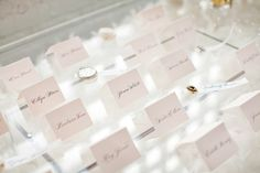 escort cards place cards