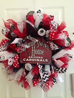 Arizona Cardinal Wreath