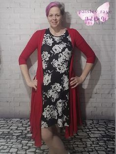 Paisley Raye Petunia Wrap Dress worn as a great cardigan. Great versatility! – Just Be U Boutique