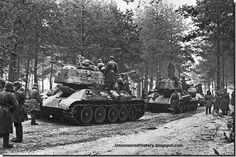 January 13, 1945. The Red Army poised to cross into east Prussia