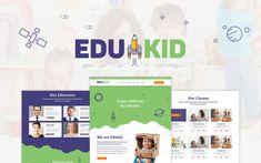 Edukid - Kindergarten & Education Theme - ModelTheme Kindergarten Themes, Preschool Themes, Singles Events, Language School, Event Page, Training Center, Event Calendar, Business Flyer, Wordpress Theme