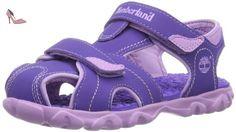 Timberland  SPLSHTWNCLSDTOESNDPR PURPLE, Sandales sport et outdoor fille - - Lila (Purple), 34 EU - Chaussures timberland (*Partner-Link)