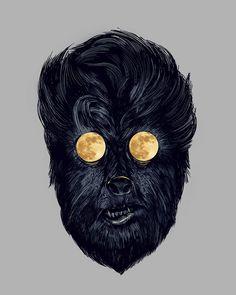Wolf Man - Art