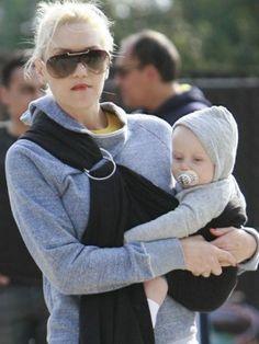 Gwen Stefani rocking the ring sling