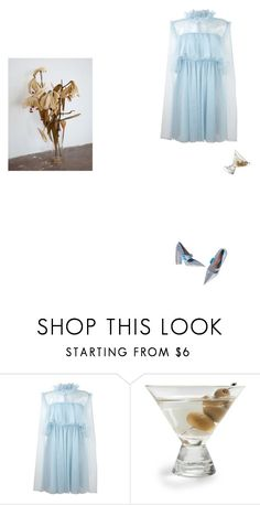 """I C Y  U"" by mywayoflife ❤ liked on Polyvore featuring MSGM and Fortessa"
