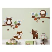 Forest Nursery, Enchanted Forest Nursery, Tree Wall Decals, Forest Nursery Theme.  Must buy
