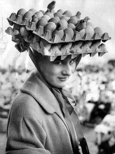 Easter Monday festive hat