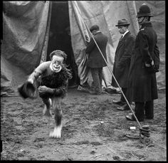 The circus came to town in 1930...
