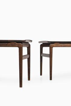 Peter Hvidt & Orla Mølgaard-Nielsen side tables at Studio Schalling
