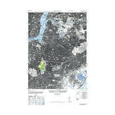 """Brooklyn // 1947 (Paper Print: 24""""W x 36""""H)"""