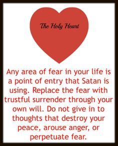 an area of fear