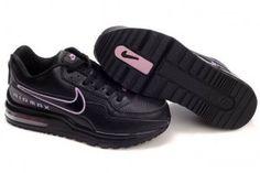 reputable site 48272 982b7 Dam Air Max LTD Svart Med Rosa Logotyp Nike Sweatpants, Nike Leggings, Nike  Hoodie
