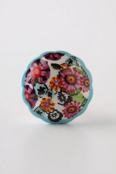 Appleton Knob, Blue eclectic knobs