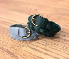 One of the great features of working with real leather instead of a woven or knit fabric is that the cut edges don't ravel. This allows for a unique kind of creativity. I was always curious about braided belts and bracelets made of leather that were closed ends. When working with real leather or fur Read More