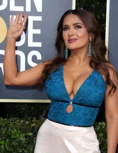 Salma Hayek Style, Salma Hayek Body, Indian Actress Hot Pics, Beautiful Indian Actress, Beautiful Celebrities, Gorgeous Women, Salma Hayek Pictures, Jolie Lingerie, Sexy Older Women