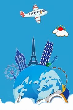 travel travel around the world world tour global travel Tour Around The World, Countries Around The World, Travel Around The World, Around The Worlds, Travel Themes, Travel Posters, Background Templates, Background Images, By Plane