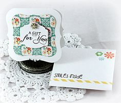 A Gift for You Mini Card & Envie by Stephanie Kraft #CustomEvelopes, #EnvelopeArt