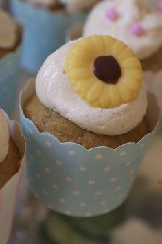 Earl Grey & Honey Cupcakes
