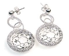 Shop now our extensive range of stylish high quality contemporary sterling silver jewellery earrings. Our sterling silver earrings are an absolute must have Silver Earrings Uk, Round Earrings, Silver Jewellery, Women's Earrings, Bangle Bracelets, Bangles, Small Wonder, Florence, Jewelry Collection
