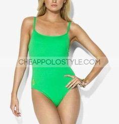 Cheap Ralph Lauren Green One Piece Bikini  Price: $40.15  http://www.cheappolostyle.com/ralph-lauren-swimwear-ralph-lauren-green-one-piece-bikini-p-162.html